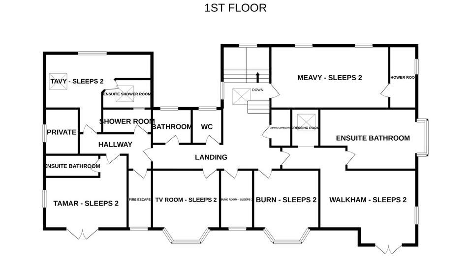 WorthaFarm Layout First Floor