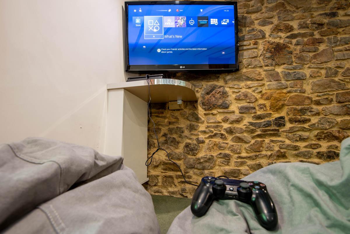 Wortha Farm PS4 and TV